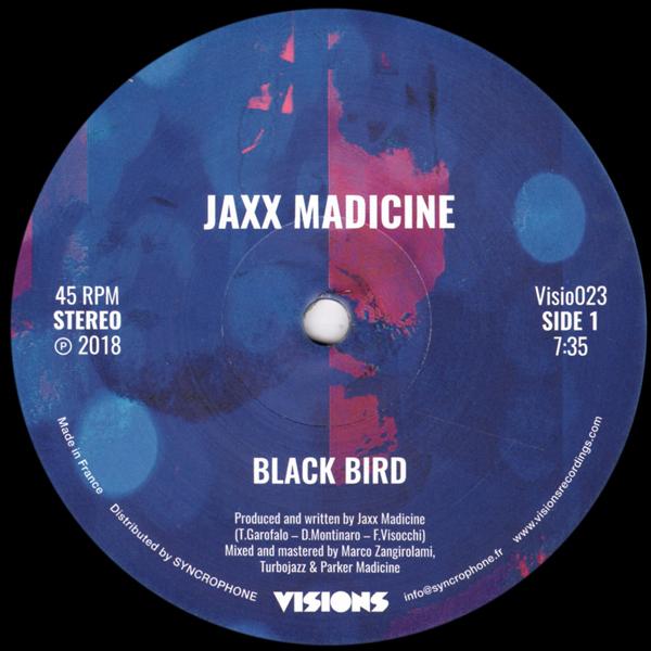jaxx-madicine-blackbird-peaceful-one-visions-recordings-cover