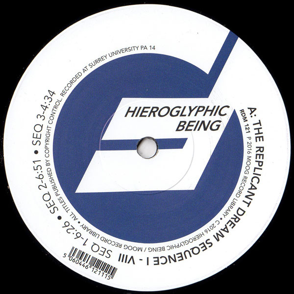 hieroglyphic-being-the-replicant-dream-sequence-blue-pa14-series-moog-record-library-cover