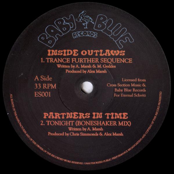 chris-simmonds-partners-in-time-inside-outlaws-eternal-schvitz-001-baby-blue-records-sampler-eternal-schvitz-cover