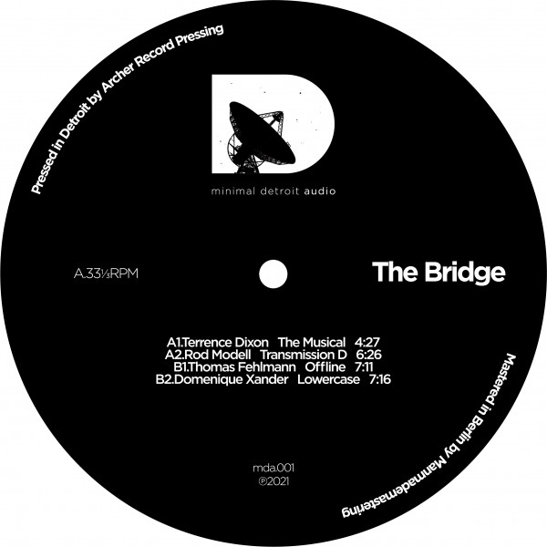 terrence-dixon-various-artists-the-bridge-pre-order-minimal-detroit-audio-cover