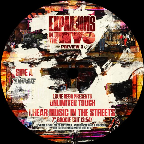 louie-vega-presents-unlimited-touch-i-hear-music-in-the-streets-nervous-records-cover