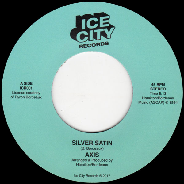 axis-silver-satin-runaway-love-ice-city-records-cover