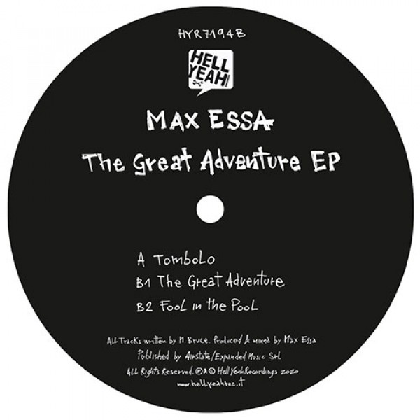 max-essa-the-great-adventure-ep-hell-yeah-cover