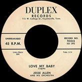 jesse-allen-and-his-orchestra-love-my-baby-after-a-while-duplex-records-cover