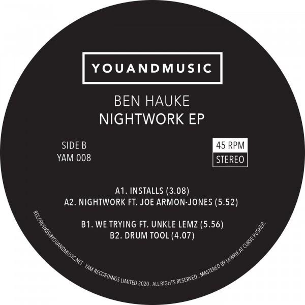 ben-hauke-nightwork-ep-yam-records-cover