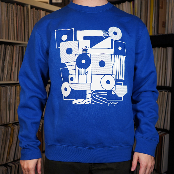 phonica-records-hands-and-sleeves-blue-sweatshirt-large-phonica-merchandise-cover