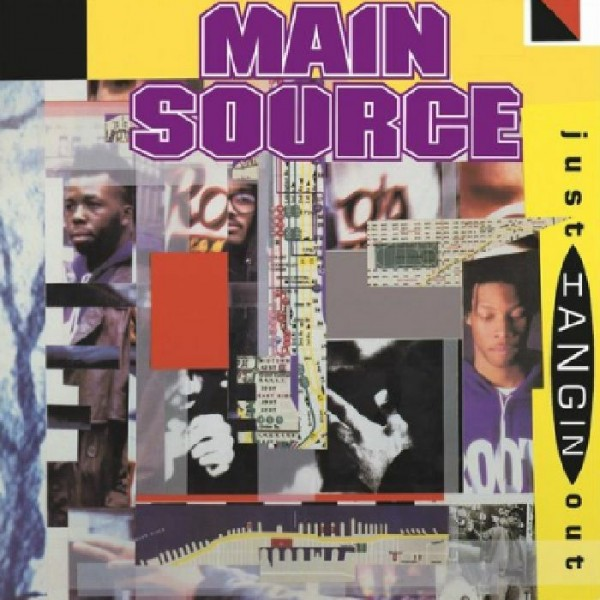 main-source-just-hangin-out-live-at-the-bbq-black-vinyl-mr-bongo-cover