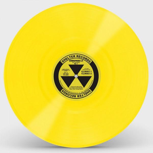 kerri-chandler-atmosphere-ep-yellow-vinyl-repress-shelter-records-cover