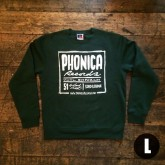 phonica-records-phonica-records-sweatshirt-green-large-size-phonica-merchandise-cover