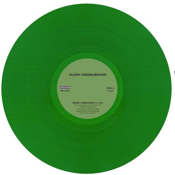 glenn-underground-moog-vibrations-green-vinyl-groovin-recordings-cover