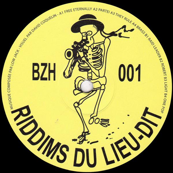 LOW JACK/Riddims Du Lieu-Dit LP/EDITIONS GRAVATS - Vinyl
