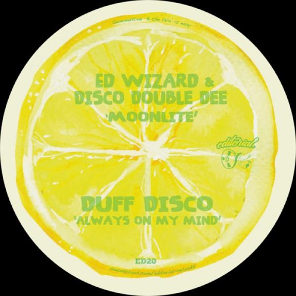ED WIZARD & DISCO DOUBLE DEE/Funk Wit Me/EDITORIAL - Vinyl