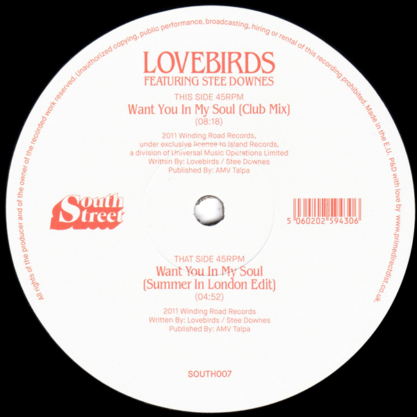 lovebirds-feat-stee-downes-want-you-in-my-soul-south-street-cover