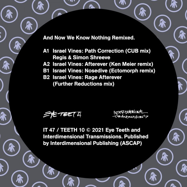 israel-vines-and-now-we-know-nothing-remixed-interdimensional-transmissions-cover