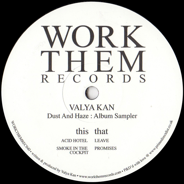 valya-kan-dust-and-haze-album-sampler-work-them-records-cover