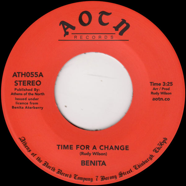 benita-time-for-a-change-athens-of-the-north-cover