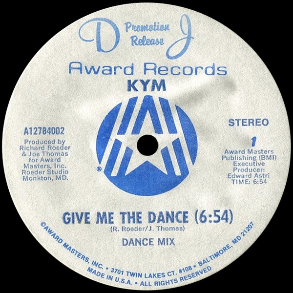 kym-give-me-the-dance-award-records-cover