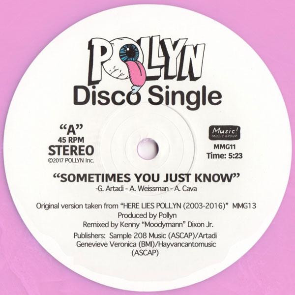 Pollyn Sometimes You Just Know Moodymann Remix Rough