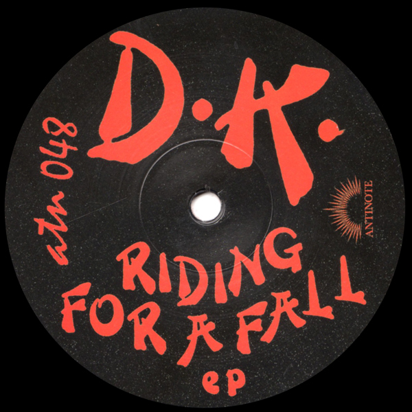 dk-riding-for-a-fall-ep-antinote-cover