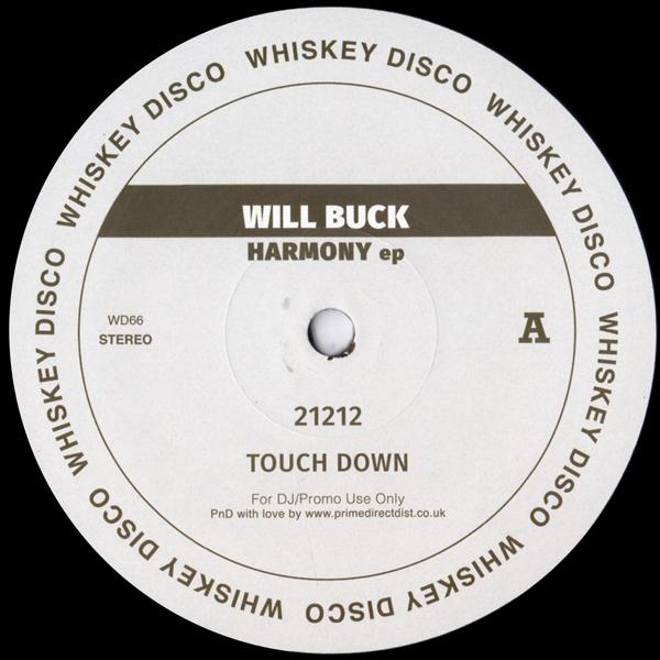 will-buck-harmony-ep-whiskey-disco-cover