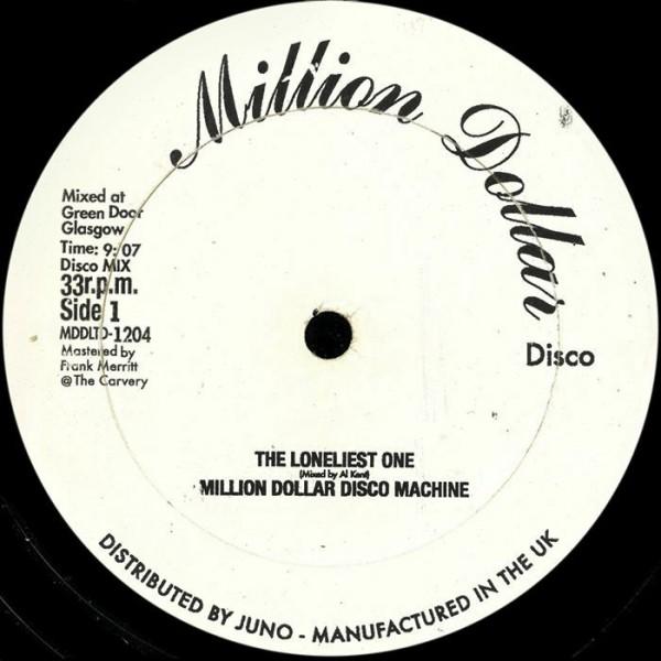 al-kent-the-loneliest-one-million-dollar-disco-cover