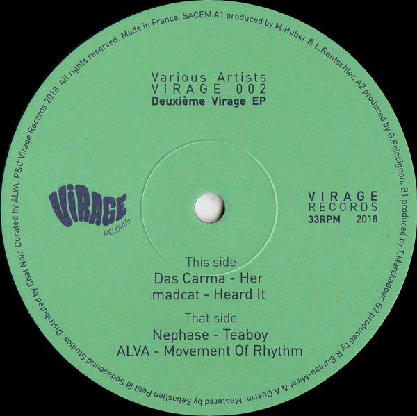 various-artists-deuxime-virage-virage-records-cover