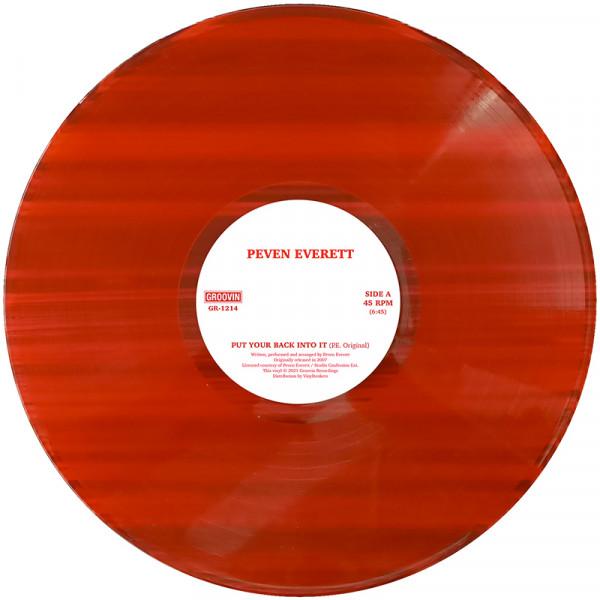 peven-everett-put-your-back-into-it-coloured-vinyl-repress-pre-order-groovin-recordings-cover