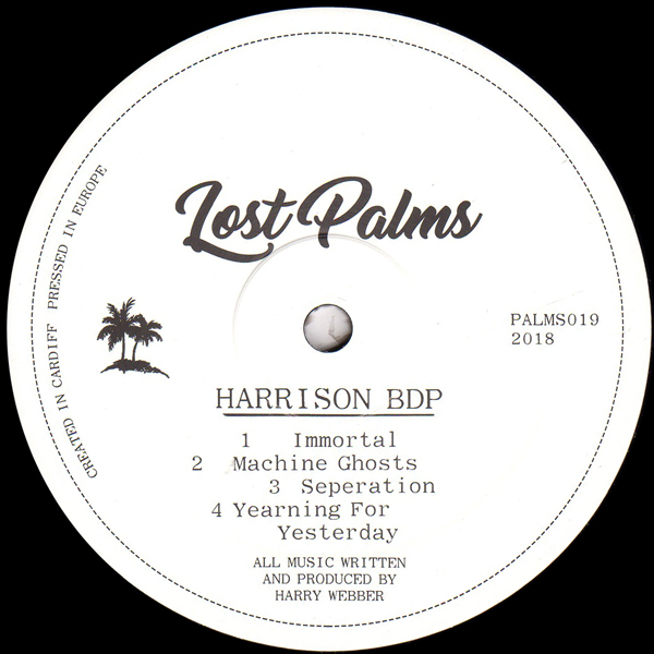 harrison-bdp-yearning-for-yesterday-ep-lost-palms-cover