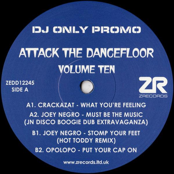 joey-negro-crackazat-various-artists-attack-the-dancefloor-volume-ten-z-records-cover