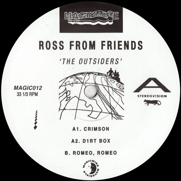ross-from-friends-the-outsiders-ep-magicwire-cover