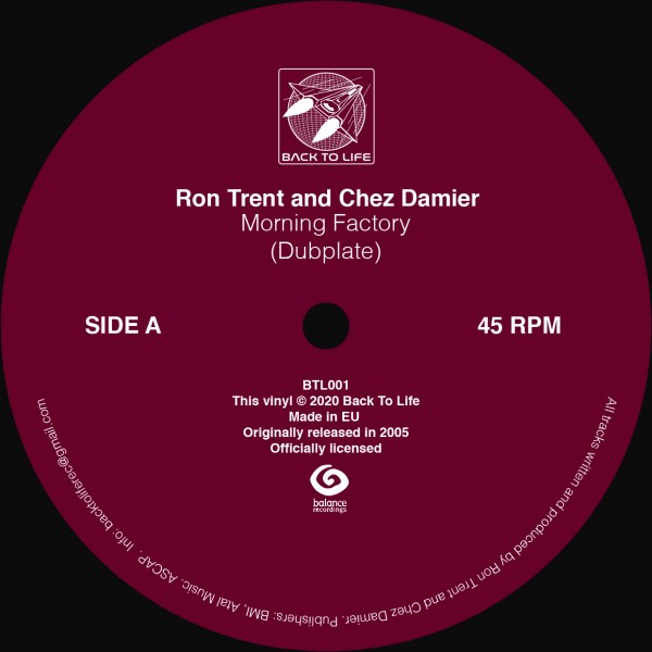 ron-trent-chez-damier-morning-factory-dubplate-back-to-life-cover