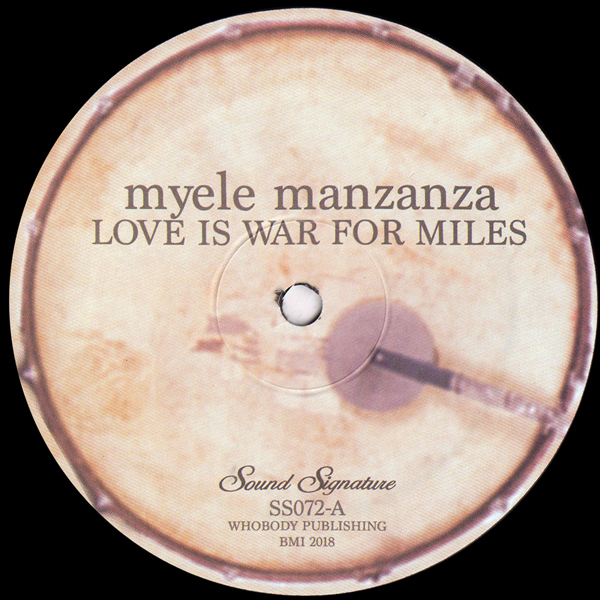 myele-manzanza-love-is-war-for-miles-sound-signature-cover