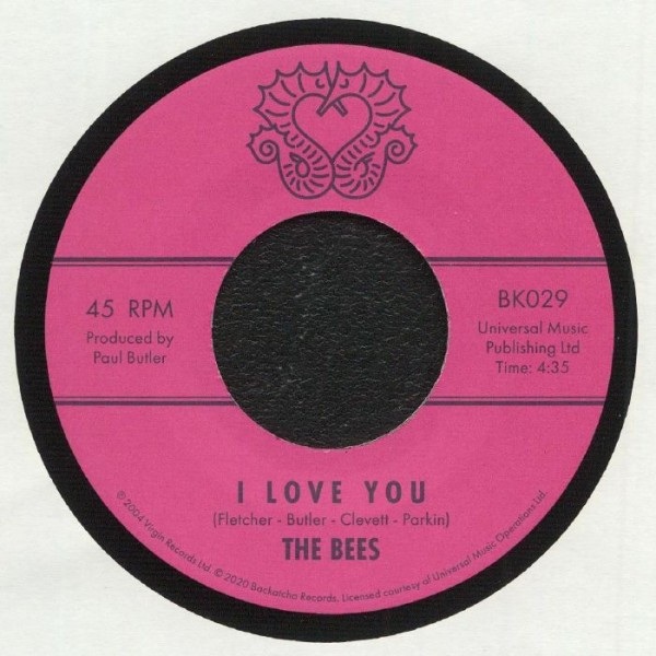 the-bees-i-love-you-backatcha-records-cover