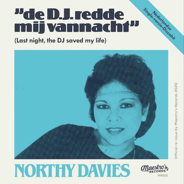 northy-davies-de-dj-redde-mij-vannacht-last-night-a-dj-saved-my-life-maestro-records-cover