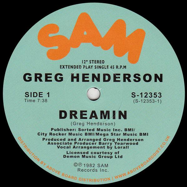 greg-henderson-dreamin-orange-vinyl-2021-repress-sam-records-cover