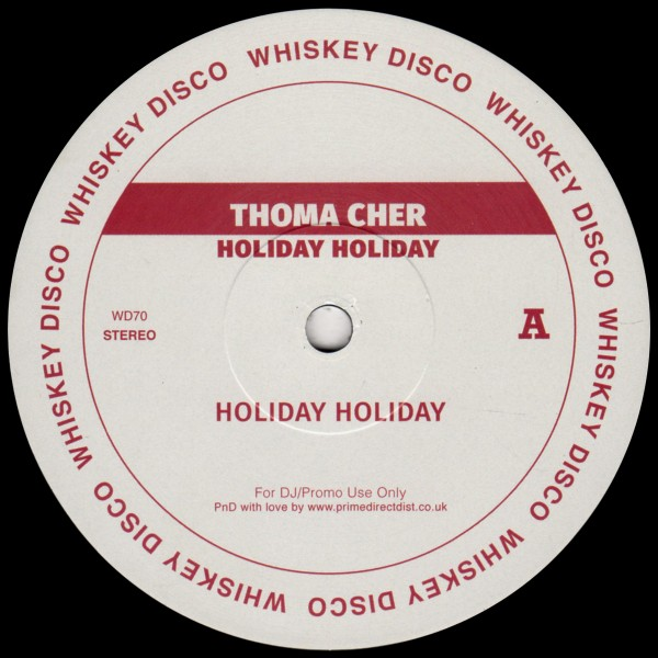 thoma-cher-holiday-holiday-ep-whiskey-disco-cover