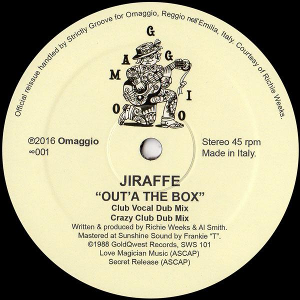jiraffe-outa-the-box-omaggio-cover