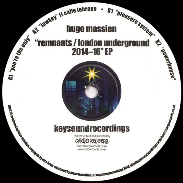 HUGO MASSIEN/Almost Becoming Lucid EP/E-BEAMZ - Vinyl