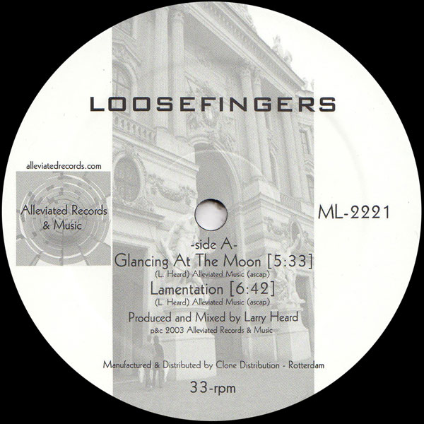 loosefingers-larry-heard-loosefingers-ep-1-glancing-at-the-moon-alleviated-records-cover
