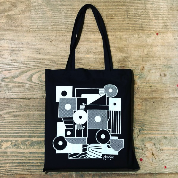 phonica-records-hands-and-sleeves-tote-bag-black-phonica-merchandise-cover
