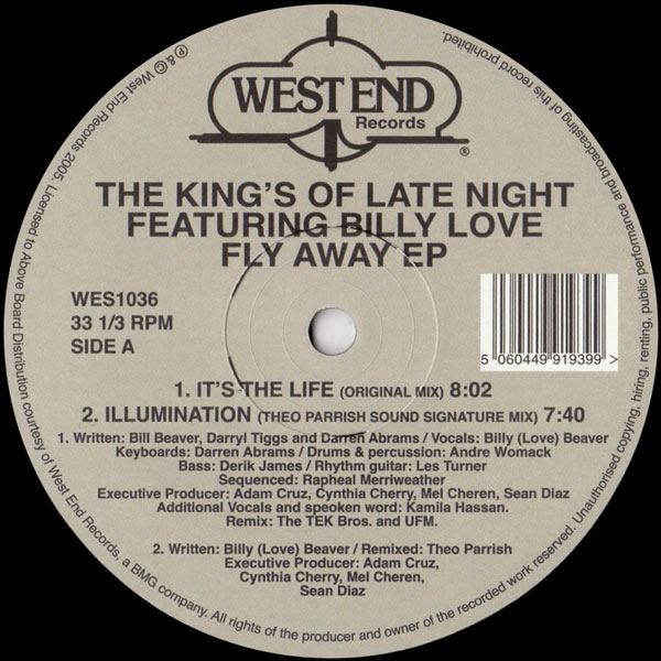 the-kings-of-the-late-night-feat-billy-love-fly-away-ep-theo-parrish-remix-west-end-records-cover