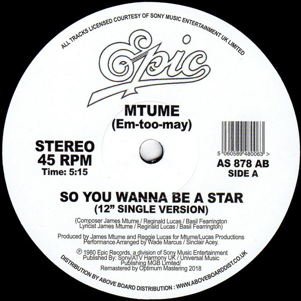 mtume-so-you-wanna-be-a-star-danny-krivit-edit-epic-cover