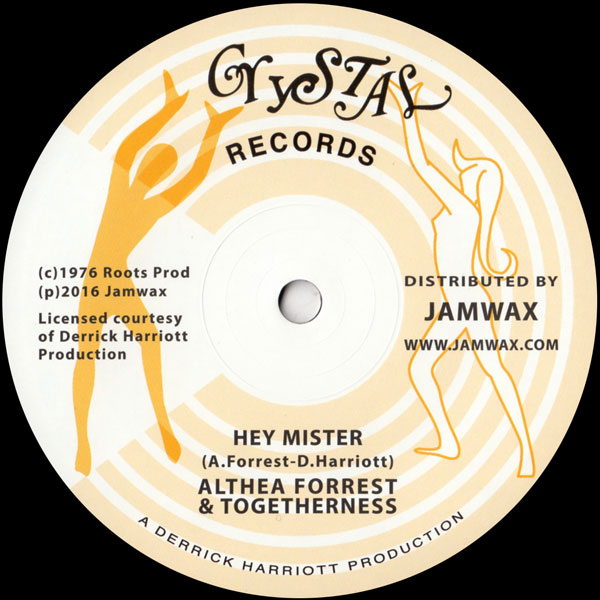 althea-forrest-togetherness-hey-mister-jamwax-cover