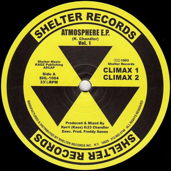 kerri-chandler-atmosphere-ep-shelter-records-cover