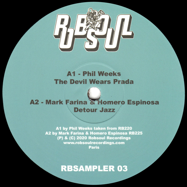 phil-weeks-oliver-dollar-various-artists-robsoul-sampler-3-robsoul-cover