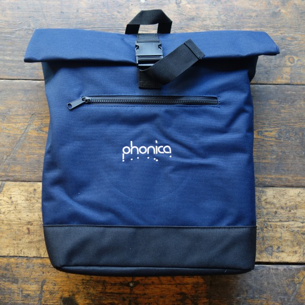 phonica-records-phonica-roll-top-navy-backpack-record-bag-phonica-merchandise-cover