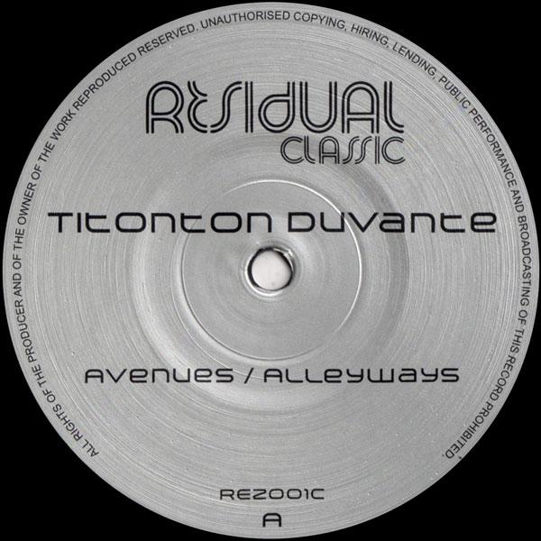 titonton-duvante-avenues-alleyways-residual-recordings-cover