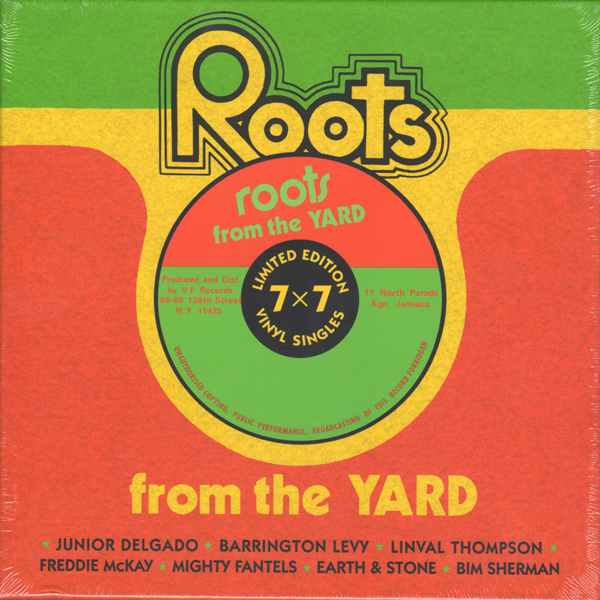 various-artists-roots-from-the-yard-7inch-box-set-vp-records-cover