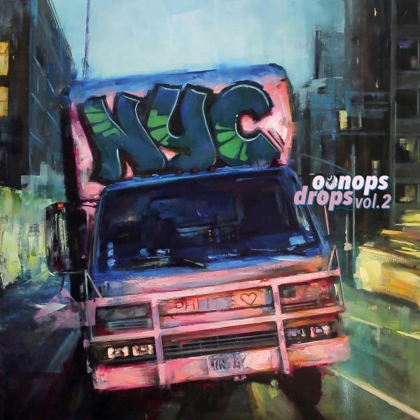 various-artists-oonops-drops-vol-2-lp-agogo-records-cover