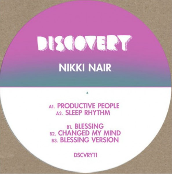 nikki-nair-productive-people-discovery-recordings-cover